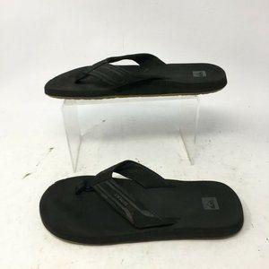 Quiksilver Casual Flip Flops Sandals Womens 6 Beac